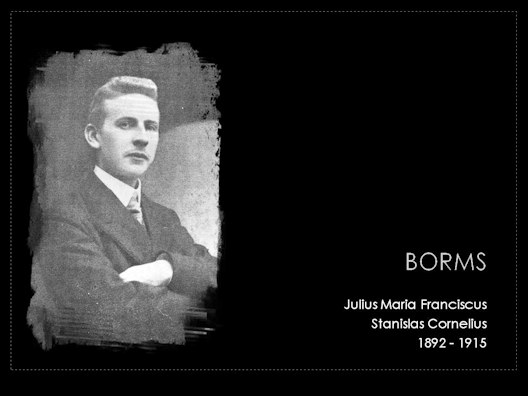 borms julius maria franciscus 1892-1915