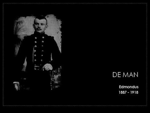 de man edmondus 1887-1918