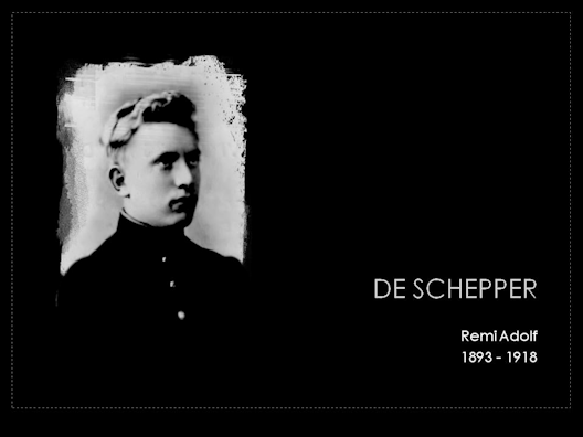 de schepper remi adolf 1893-1918