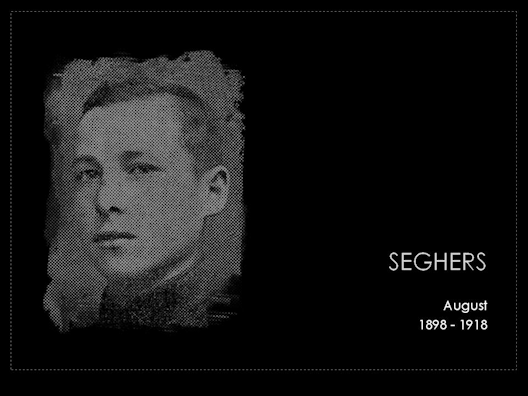 seghers august 1898-1918